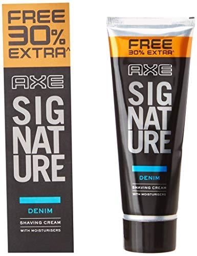 AXE Denim Lather Shaving Cream, 60 g (with 30% Extra), 78g