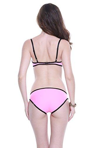 womens Women`s Two Pieces Push Up Neoprene Bikini Swimwear XS ( US 0 2 )