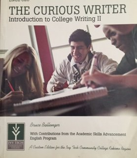 ENGL 025 - The Curious Writer