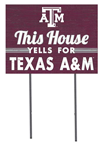 KH Sports Fan 18x24 Lawn Sign Texas A&M