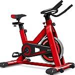 41ophWMbbrL. SS150 DXIN Cyclette Ciclismo da Allenamento Bicicletta Indoor Spin Bike Silenziosa Allenamento Aerobico Attrezzatura per Il Fitness 150 kg con Display Home Sports Spinning Bike