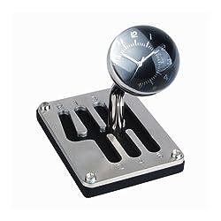Desktop Gear Shift Knob with Clock
