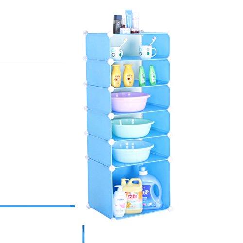 delicate toilet/Bathroom storage rack/washstand/bathroom storage rack/Square shelf/landing and hamper-C