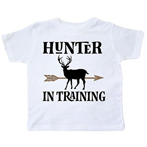 inktastic - Hunter in Training Hunting Toddler T-Shirt 5/6 White 2de6a