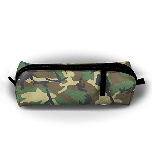 - Ppppllll Army Green Camouflage Pattern Zipper Travel Cases Makeup Handbag Resistance Carrying Handle Cosmetic Hanging Bag Accessories Toiletries Pouch Power Lines Documents Bag