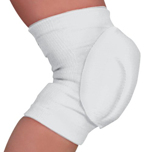 Champro CPX-2000 Volleyball Knee Pad (White, Junior) (Champro Volleyball Knee Pads)