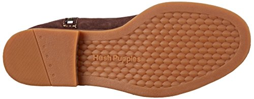 Hush Puppies Cerise Catelyn Daim Botte, Marron (Dk Brown), 39