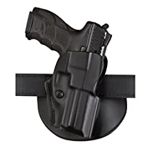 Safariland 5198 Open Top, Paddle & Belt Slide Combo, Glock 26, 27, Plain Black, Right Hand