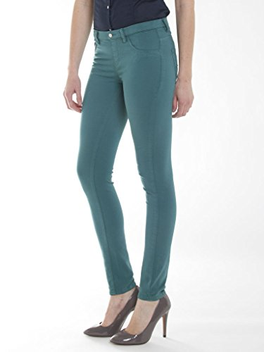 Femme Skinny Jeans 796 Carrera Vert fUBYnwq