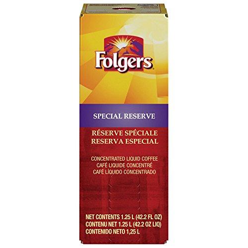 Folgers Liquid Coffee - Special Reserve 1 box/1.25 L - Replaces Douwe Egberts Prestige