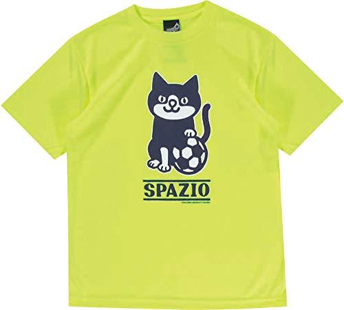 情熱面白いむしゃむしゃ[スパッツィオ] ジュニア フットサル プラクティス Tシャツ2 JR.PIPPO PRACTICE T-SHIR ネオンイエロー TP-0530