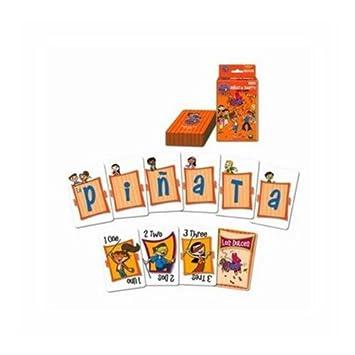 Amazon.com: Maya & Miguel Piñata Fiesta juego de cartas ...