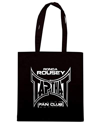 Nera Borsa CLUB ROUSEY FAN WES1003 Shopper Speed Shirt RONDA qTaAtt