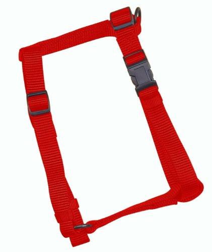 Hamilton Adjustable Comfort Nylon Dog Harness, Red, 3/4″ x 20-30″, My Pet Supplies