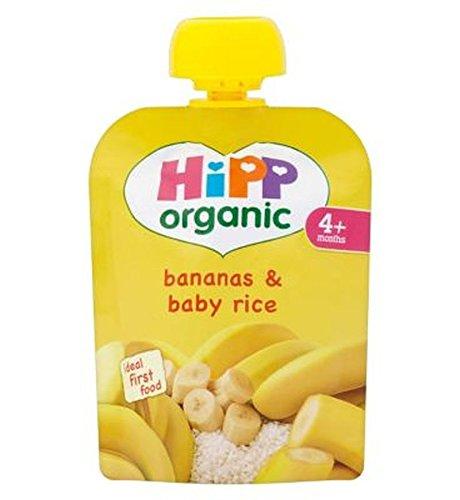Hipp Organic Bananas & Baby Rice 4+ Months 70G