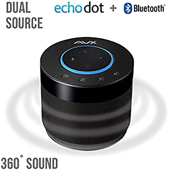 echo dot speaker w bluetooth 360 degree sound. Black Bedroom Furniture Sets. Home Design Ideas