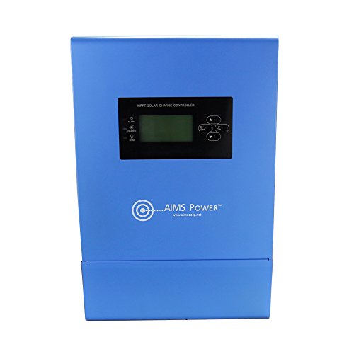 AIMS Power SCC80AMPPT Solar Charge Controller, 80 Amp 12/24/36/48V by Aims