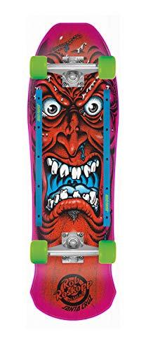 (Santa Cruz Roskopp Face 80s Cruzer Complete Skateboard,Multicolored,9.5
