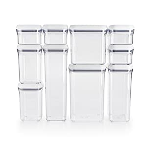 OXO Good Grips 10 Piece Airtight Food Storage POP Container Value Set