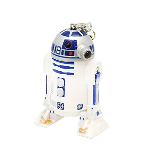 Star Wars R2-D2 LED Figural Keychain - Light Figural