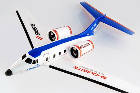 Air Earl Rc Airplane Twin Engine Ready to Fly Corporate Jet by E-Toysworld primary