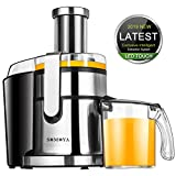 Juice Extractor SOMOYA Juicer Machine 2019 Smart LCD Centrifugal Juicer High-Speed 800W Juicer Easy to Clean, Juice and pulp Separation Fruit Juicer