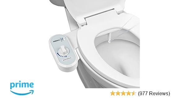 Greenco Bidet Fresh Water Spray Non Electric Mechanical Bidet Toilet
