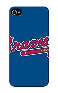Forever Collectibles Baseball Atlanta Braves 3 Hard Snap-on Iphone 6 plus 5.5 Case With Design Made As Christmas's Gift
