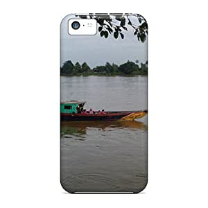 Hot Snap-on Rantau Bayur South Sumatera Hard Covers Cases/ Protective Cases For Iphone 5c