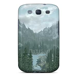Excellent Galaxy S3 Case Tpu Cover Back Skin Protector Skyrim Great View