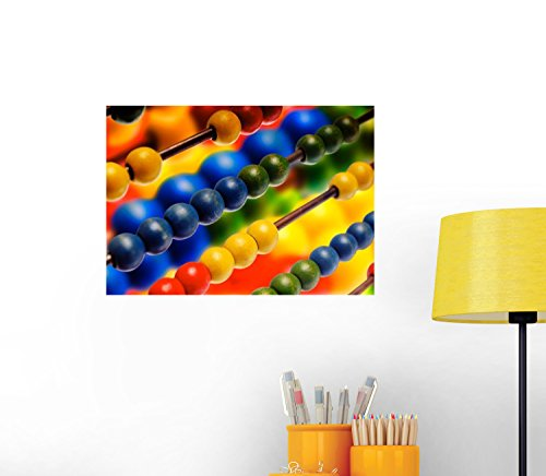 Colorful Toy Wall Decal - 30 Inches W x 21 Inches H - Peel and Stick Removable Graphic