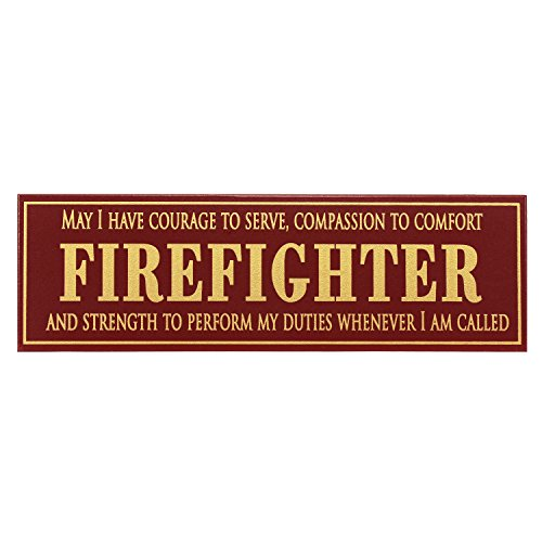 Firefighter - 5x16 Wooden Sign by My Word!