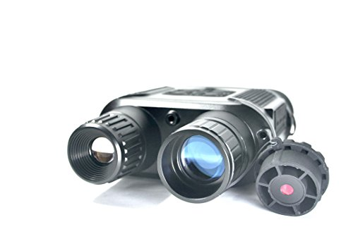 Bestguarder NV-800 Digital Night Vision Binocular, Digital Infrared Night Vision with Camera & Camcorder Function Take Photo & Video From 400m/1300ft Viewing Range by Bestguarder