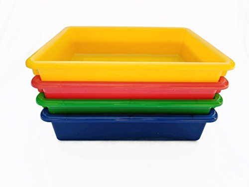 Storage Cubbie Lid (Storage Bins, Heavy Duty Basket Perfect for Office or Classroom Organizer, Fabric Bin, Toys, to Sort Recyclables. Food Safe, Kid Safe Box)