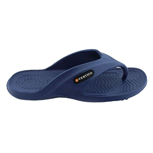 Vertico Shower Sandal Rubber Blau