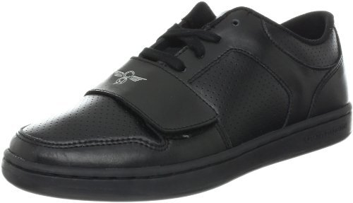 Creative Recreation Cesario 4 Lo Sneaker (Toddler/Little Kid/Big Kid),Black/Black,5.5 M US Big Kid