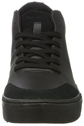 Boxfresh Herren Lezon Sh Lea/Sde Blk Hohe Sneaker Schwarz (Schwarz)