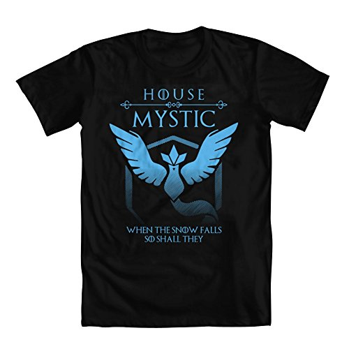 Pokemon Go Hoodies for Men - Team Mystic (Black) - 4