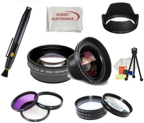 Paquete de Aventura al aire libre Pro lente para Nikon D5000 ...