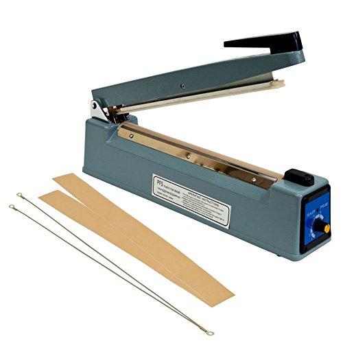 Generic Hand Impulse Sealer Heat Seal Machine Poly Sealing Free Element Grip - Plastic Bag Sealer