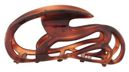 Caravan Tortoise Shell Hair Claw Sled Deign Can You Ride Along ()