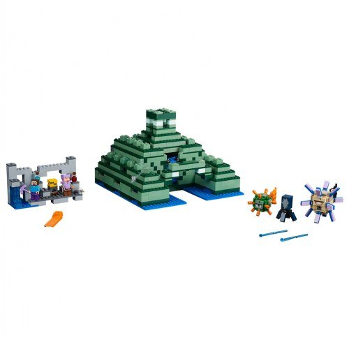 LEGO Minecraft the Ocean Monument 21136 Building Kit (1122 Piece) by LEGO (Image #2)