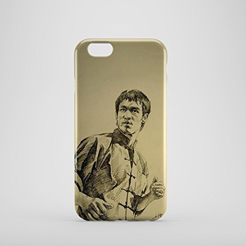 Famous Bruce Lee Phone Case for iPhone 6