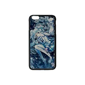 Hard Case Cover Back Skin Protector Style Plastic and TPU Case For Apple iPhone 6 plus 5.5 Inch C Black&White with Pattern Yukimiku