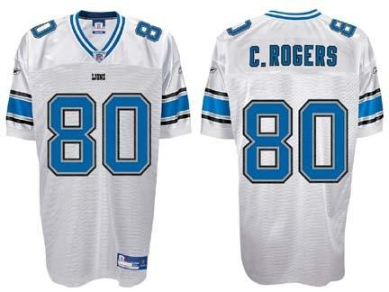 newest 0cddd 466c4 Amazon.com: Charles Rogers Detroit Lions #80 Authentic ...