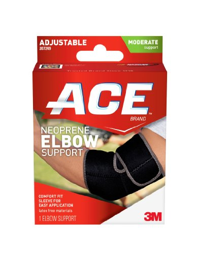 Ace Elbow Brace - ACE Neoprene Elbow Support, America's Most Trusted Brand of Braces and Supports, Money Back Satisfaction Guarantee
