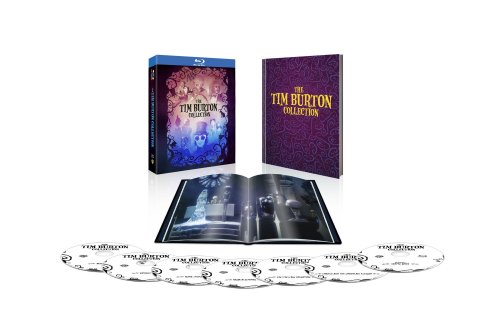 The Tim Burton Collection & Hardcover Book [Blu-ray]