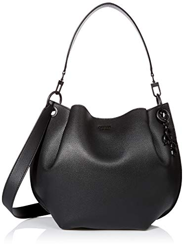 GUESS Digital Matte Hobo, black (Guess Hobo Handbags)
