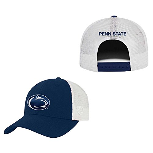 n State Nittany Lions Adult NCAA Team Spirit Structured Fit Meshback Hat - Team Color, (Mesh Back Baseball)