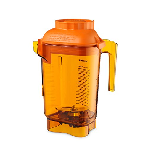 Vitamix 58990 Orange Advance 48 Oz Tritan Container